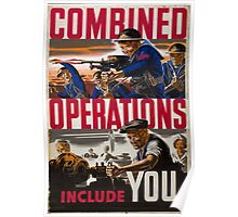 Combined Operations Poster