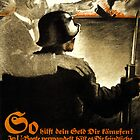German WWI Propaganda Poster by chris-csfotobiz