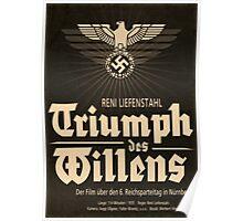 Triumph - German WW2 Film Poster Poster