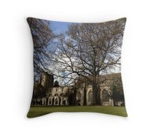 Dunkeld Cathedral. Perthshire, Scotland  Throw Pillow