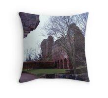 Rosslyn Castle, Midlothian, Scotland.  Throw Pillow