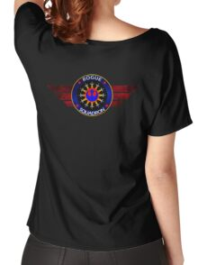 Rebel Alliance Rogue Squadron Logo Women's Relaxed Fit T-Shirt
