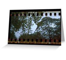 Holga Sprockets Trees and Sky Greeting Card