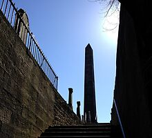 The Martyr's Monument in Old Calton Burial Ground.  Edinburgh by LBMcNicoll