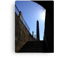 The Martyr's Monument in Old Calton Burial Ground.  Edinburgh Canvas Print