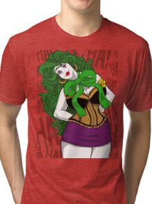 BBW Clown in Corset Tri-blend T-Shirt