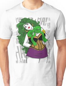 BBW Clown in Corset Unisex T-Shirt