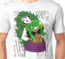 BBW Clown in Corset Unisex T-Shirt