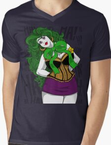 BBW Clown in Corset Mens V-Neck T-Shirt