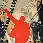 Old Soviet Poster by Chris L Smith