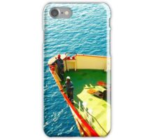 Bunker Barge In Cyprus iPhone Case/Skin