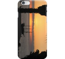 Sunsetting on the Tall Ship iPhone Case/Skin