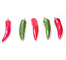 Red Hot Chillies Photographic Print