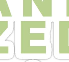 Organized Sticker