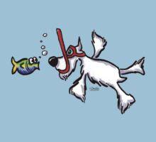 White Schnauzer Snorkel Buddy Kids Clothes