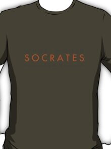 What would Socrates say? v2.0 T-Shirt