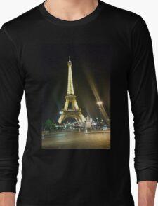 France, Paris, Eiffel tower, Long Sleeve T-Shirt