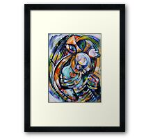 Safe in Her Mother's Womb Framed Print