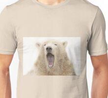 ....the run away sign for the Polar bear..... Unisex T-Shirt