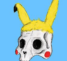 The Skull of Pikachu by Lukee Thornhill