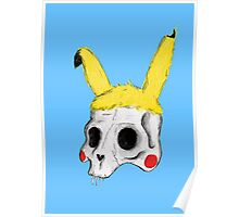 The Skull of Pikachu Poster