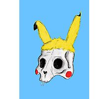 The Skull of Pikachu Photographic Print