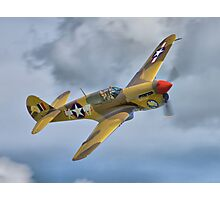 The Fighter Collection's Merlin-Engined P-40F Photographic Print