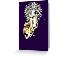 Chief Owl  Greeting Card