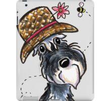 Grand Ole Schnauzer iPad Case/Skin
