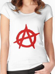 Anarchy Shirt Women's Fitted Scoop T-Shirt