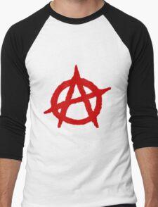 Anarchy Shirt Men's Baseball ¾ T-Shirt