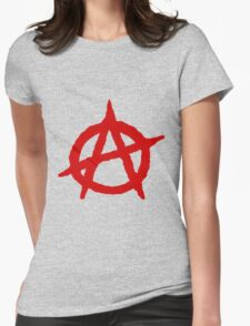 Anarchy Shirt Womens Fitted T-Shirt
