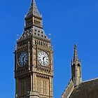 Big Ben the Elizabeth Tower by Avril Harris