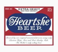 Heartshe Beer One Piece - Short Sleeve