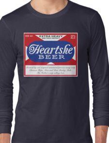 Heartshe Beer Long Sleeve T-Shirt