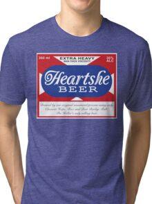 Heartshe Beer Tri-blend T-Shirt