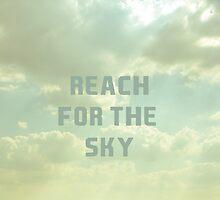 Reach For The Sky by Nicola  Pearson