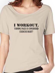 I WORKOUT Women's Relaxed Fit T-Shirt