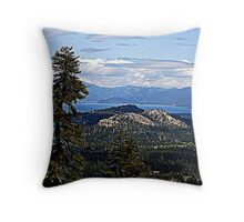 """Lake in the Sky"" Throw Pillow"