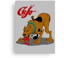 Cujo Doo Canvas Print