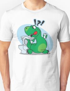 T-rex and the Potty T-Shirt
