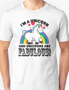 Fabulous Unicorn T-Shirt