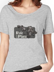 Role Playa - Black Women's Relaxed Fit T-Shirt