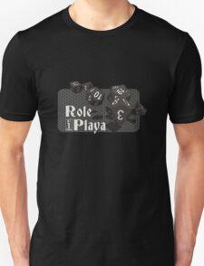 Role Playa - Black Unisex T-Shirt