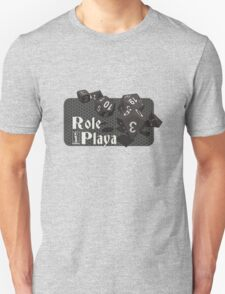 Role Playa - Black T-Shirt