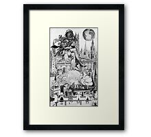 Life & Lesson on a Paralell Universe. Framed Print