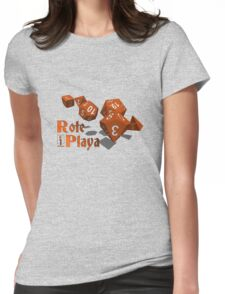 Role Playa - Red Womens Fitted T-Shirt