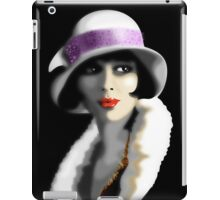 Girl's Twenties Vintage Glamour Portrait iPad Case/Skin
