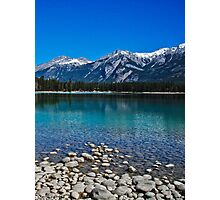 Serene Lake in the Mountains Photographic Print