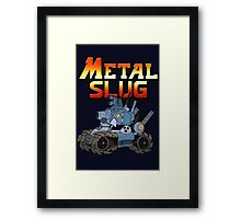 Metal Slug Tank Framed Print